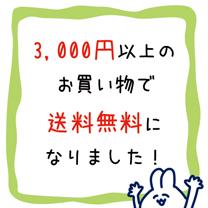 3,000円以上送料無料